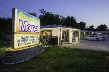 Starlite Motel Toledo Bend Lake Country