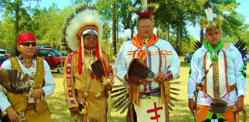 Native American culture in Toledo Bend Lake Country