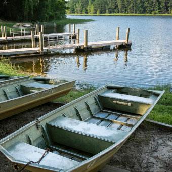 Boat Launch in Sabine Parish Louisiana