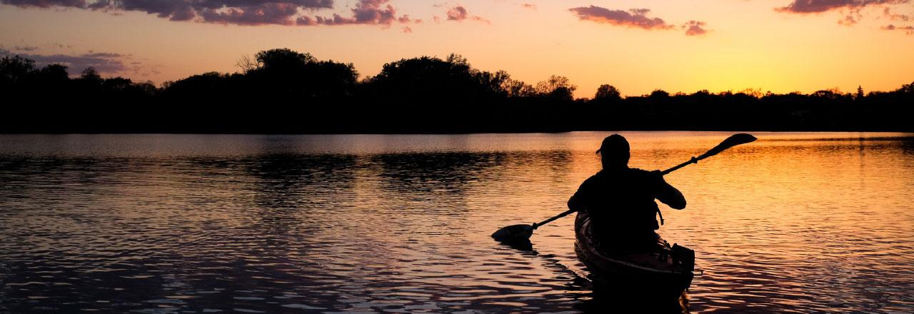 Canoeing in Sabine Parish Louisiana