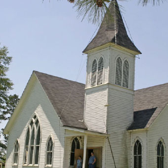 Sabine Parish Louisiana Churches